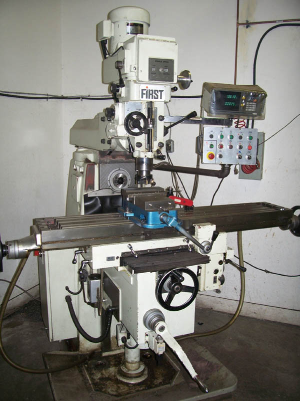 First Universal Manual Milling Machine